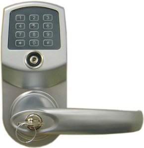 LockState LS-1500-SN Heavy-Duty Electronic Keyless Lock