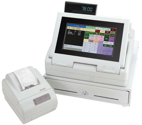 Royal TS4240 Touch Screen LCD Cash Management System