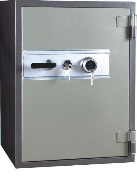 HS-120 2 Hours Fireproof Double Lock Office Safe 5.5 Cubic Foot