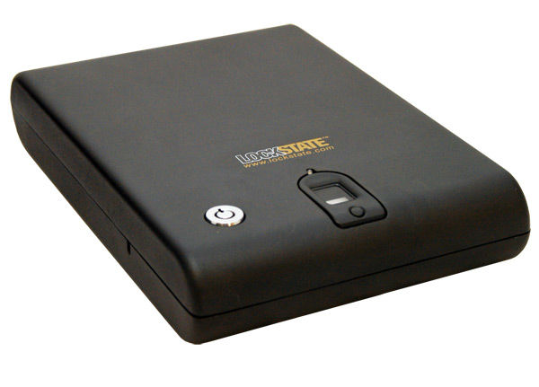 LockState LS-SC1000 Biometric Handgun Safe with Cable
