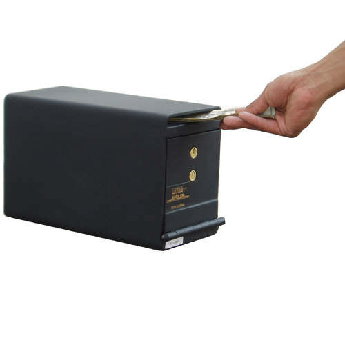 Mesa Under Counter Horizontal Cash Drop Box MUC2K