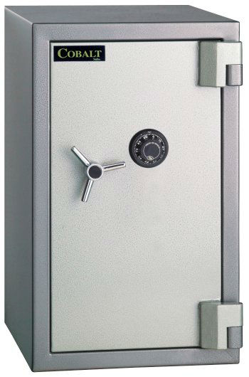 Fire and Burglary Safe Cobalt SB-03C 3.4 Cu Ft 2 Hours Fireproof