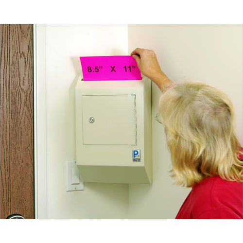 Corner Wall-Mount Locking, Payment Drop Box WDB-110-CR